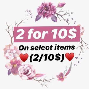 Step1 : Like the items!